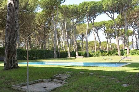Luminoso y tranquilo apartamento con piscina