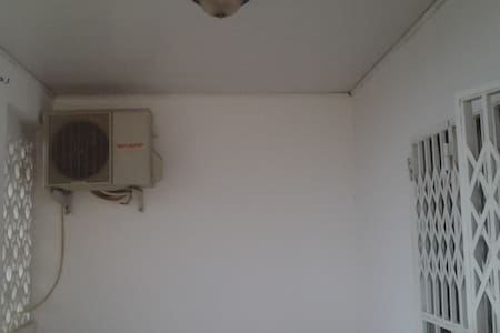 1. Flat is located in a  quiet and secured Place