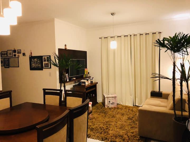 Apartamento com conforto & tranquilidade