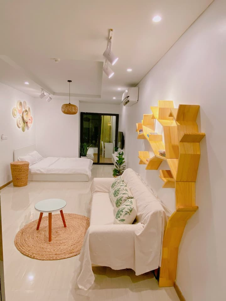 AHA Homestay - Vintage apartment for 4 persons