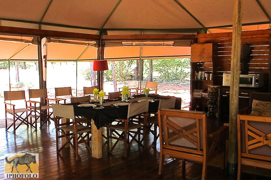 enjoy a meal in the large and fully equipped communal area