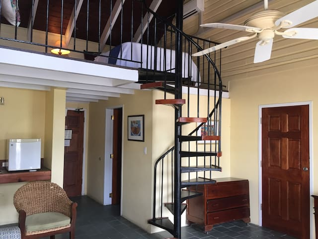 Superior Suite at Historic Club Comanche Hotel St. Croix