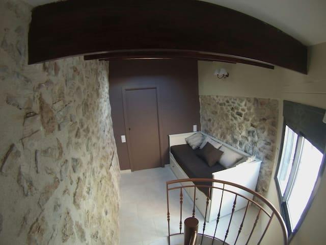 Alojamiento uso turístico casa Tòful - Alfara de Carles - Loft