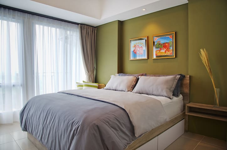 Newly Design Studio Apartment for 2 in Bintaro
