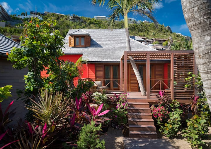 Villa Creole, an authentic spirit on the beach