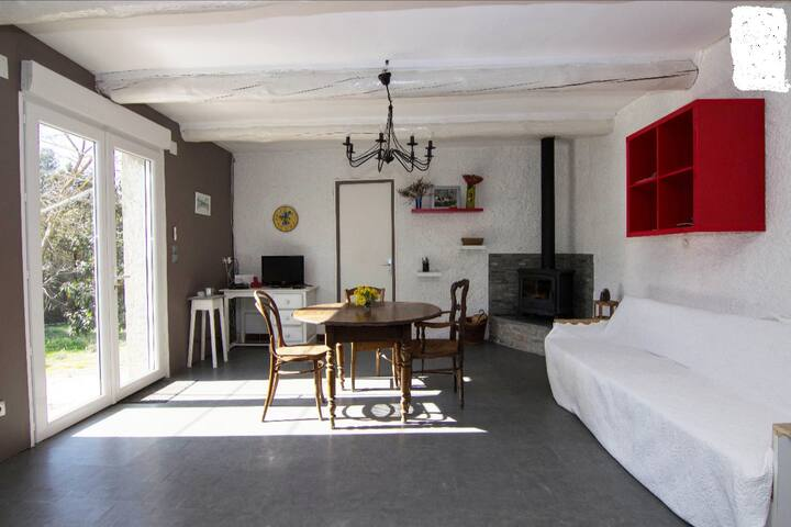 maison a st paul en foret - Saint-Paul-en-Forêt - Casa