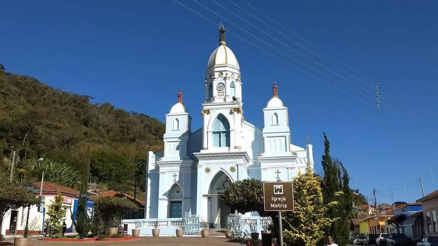 Pontos Turísticos: Igreja Matriz de São Bento do Sapucaí