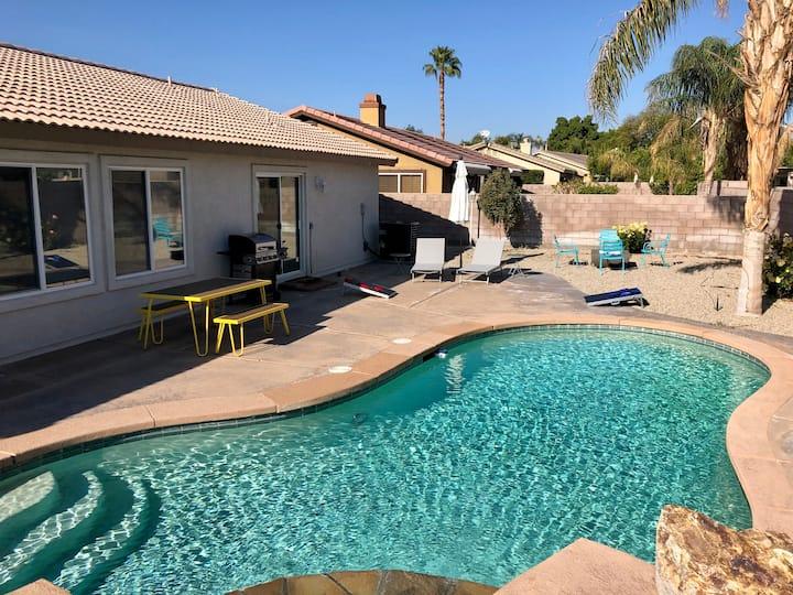 Pet Friendly Desert Escape Featuring Pool & Spa