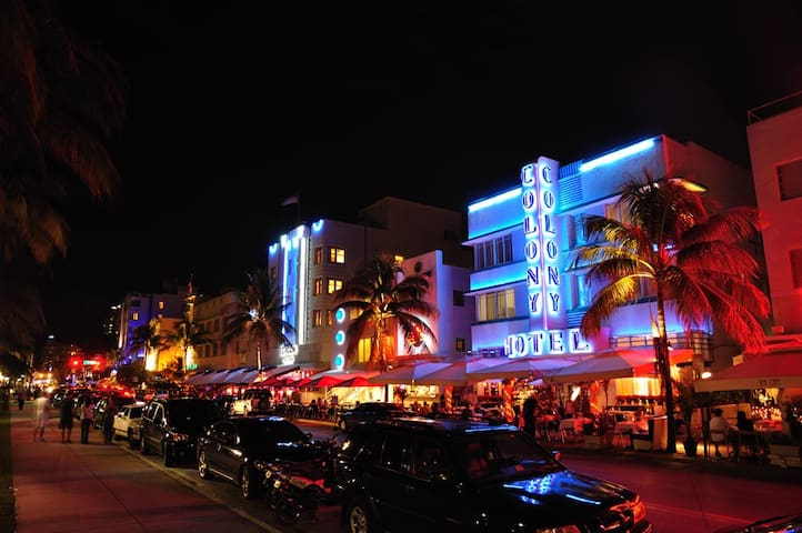 Comfortable apartment in the heart of Ocean drive - Miami Beach - Apartment
