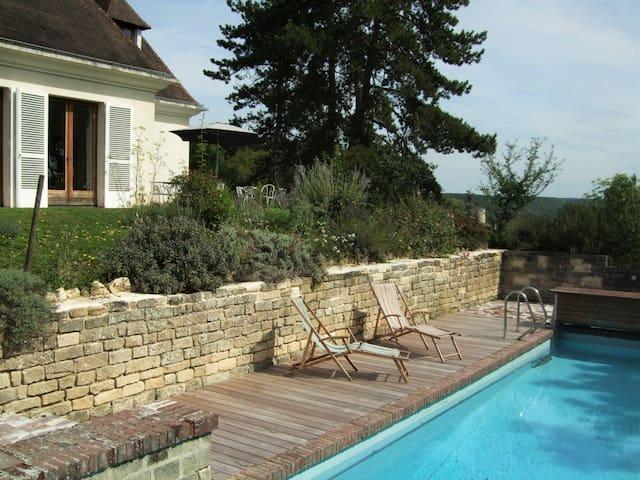 Maison d'Hôtes des Crêtes - La Roche-Guyon - Bed & Breakfast