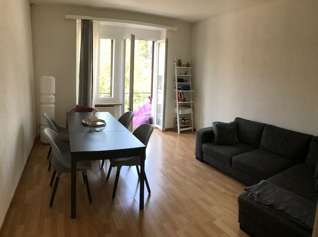 Welcome! 1 bedroom lovely apt few min from center