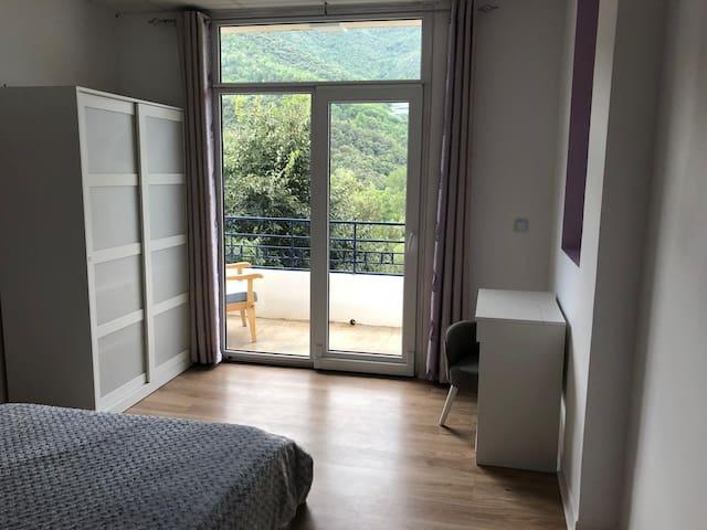 Bel Appartement tranquille avec vue imprenable