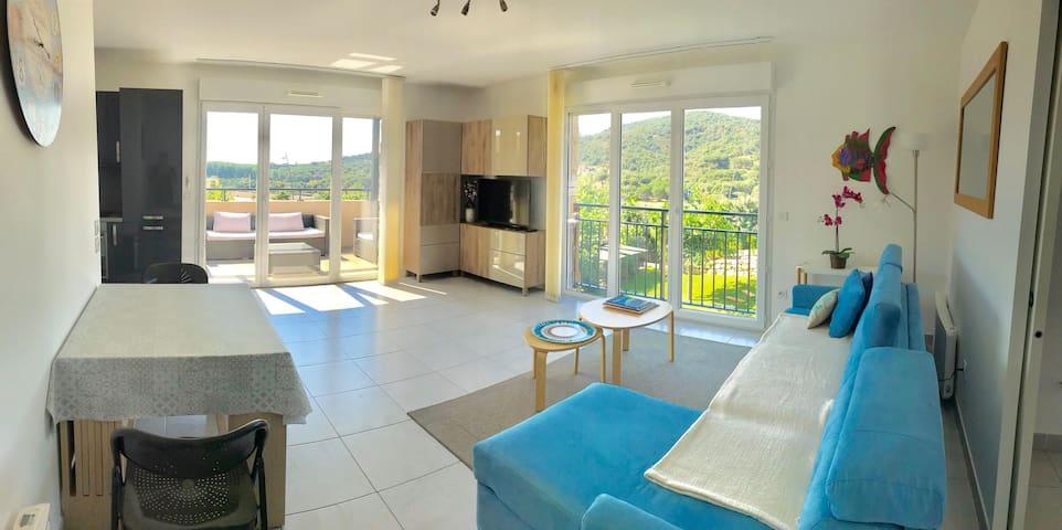 Appartement T3 NEUF avec Piscine à Sainte-Maxime
