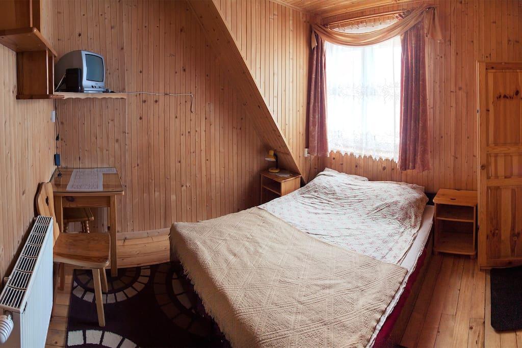 Pokój w drewnie