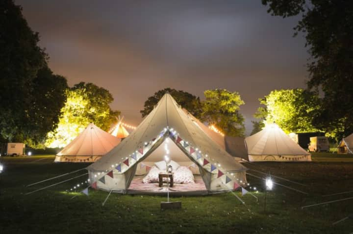 Leaping Water Bell Tent - Love Zone