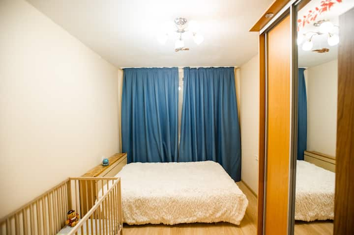 Apartment located 1 min from subway station.