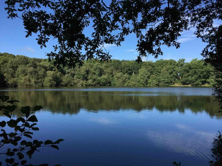 Lovely cottage for couples: nature, fishing, walks