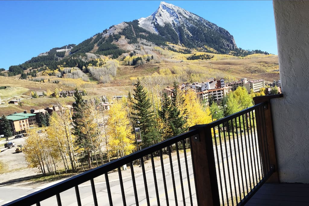 one of the best views of mt crested butte in Crested Butte! right from your porch