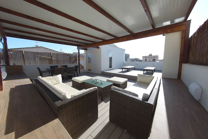 Attic Penthouse Apartment with Jacuzzi - Porto Cristo - Pis