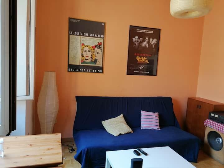 Room for 2 in Rome, San Lorenzo.