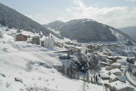 Nel Parco Nazionale d'Abruzzo - San Sebastiano - Vila