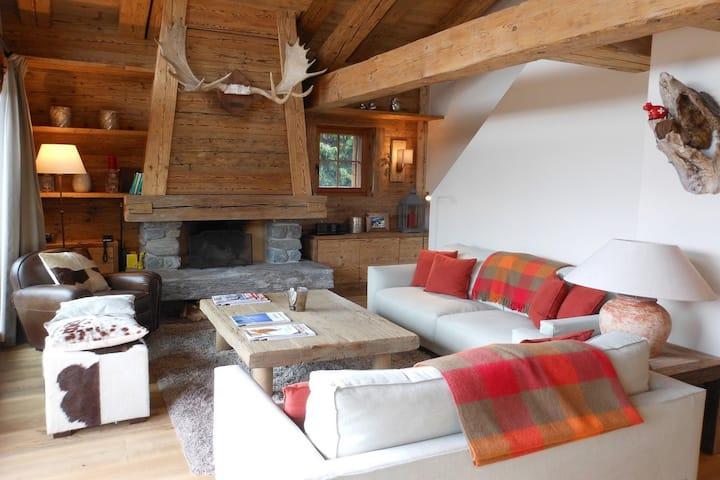 Bourdon, (Verbier), Chalet 5 rooms