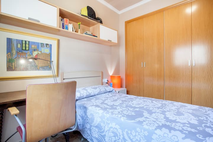 Habitación homesharing, ideal para estancia larga