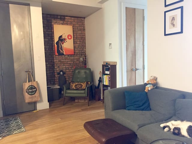 Lovely apartment with a true city feeling! - Brooklyn - Condominio