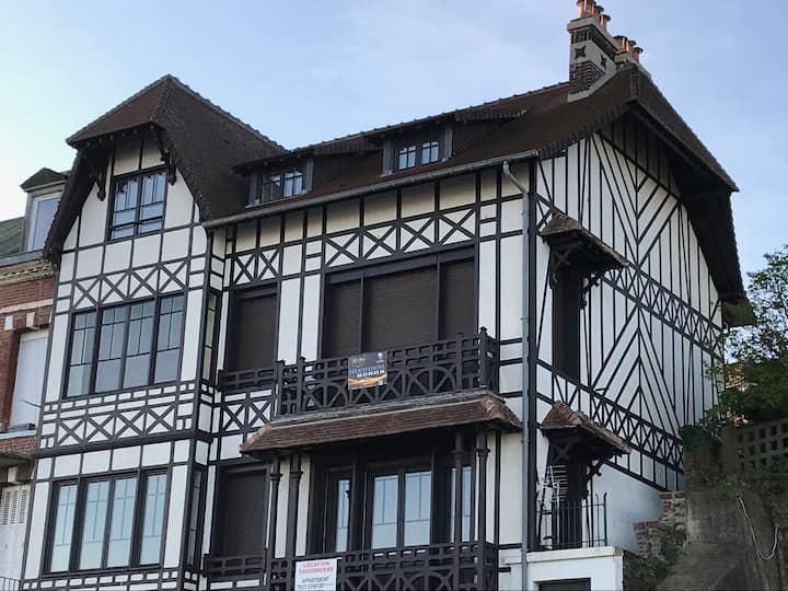 Appartement style normand vue sur mer