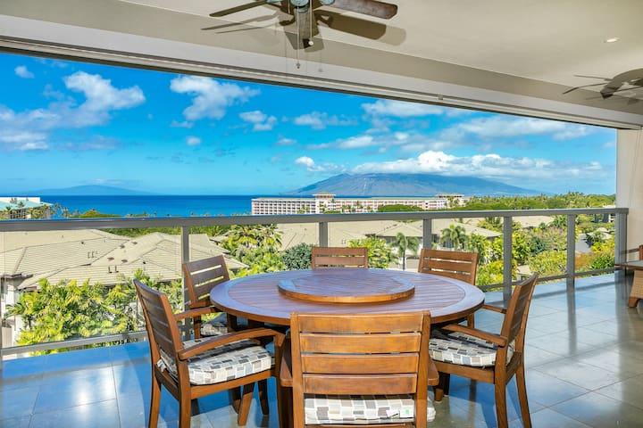 Amazing Ocean Views with Wailea Luxury! HOO 23-3