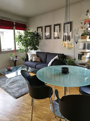 Appartement cosy, moderne et lumineux