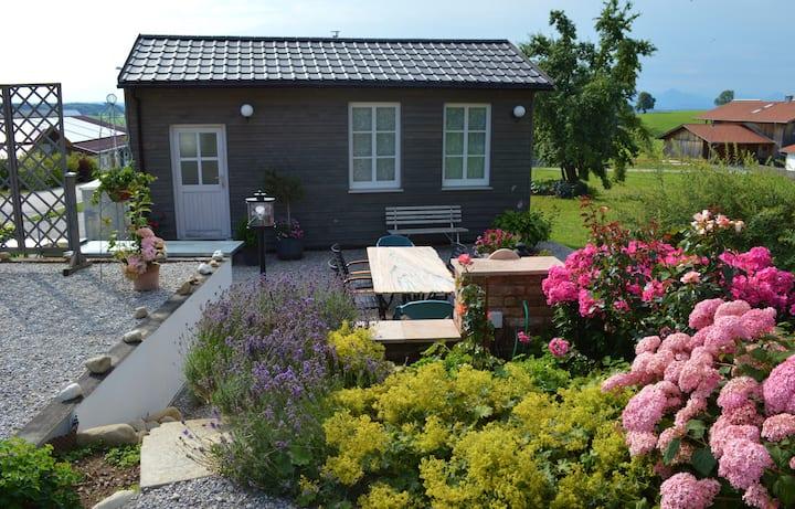 Sommeridylle im Tiny House im schönen Allgäu