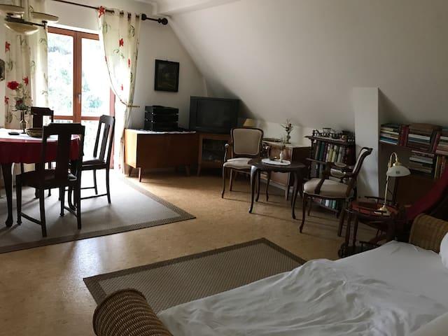 große Zwei -Raum- Ferienwohnung mit Zusatzzimmern