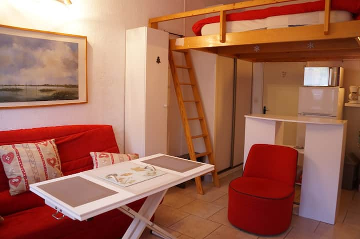 Studio en coeur de station résidence L'Estelan