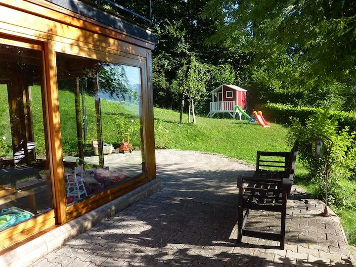 Maison en Savoie, avec jacuzzi