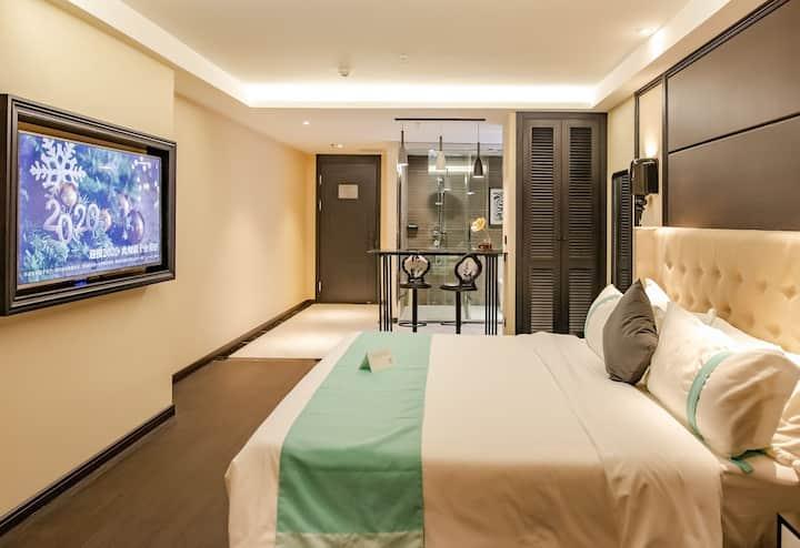 法式轻奢风格 希岸酒店 锦江酒店集团旗下精品酒店。