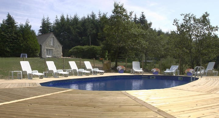 Bonne Chere, Family Friendly Cottages with Pool