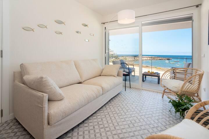 BLAU Apartamento en Cala Galiota con vistas al mar