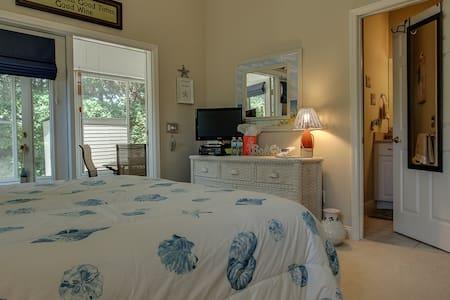 Amelia Island Beachy Clean Getaway-Late check out! - Fernandina Beach - Casa