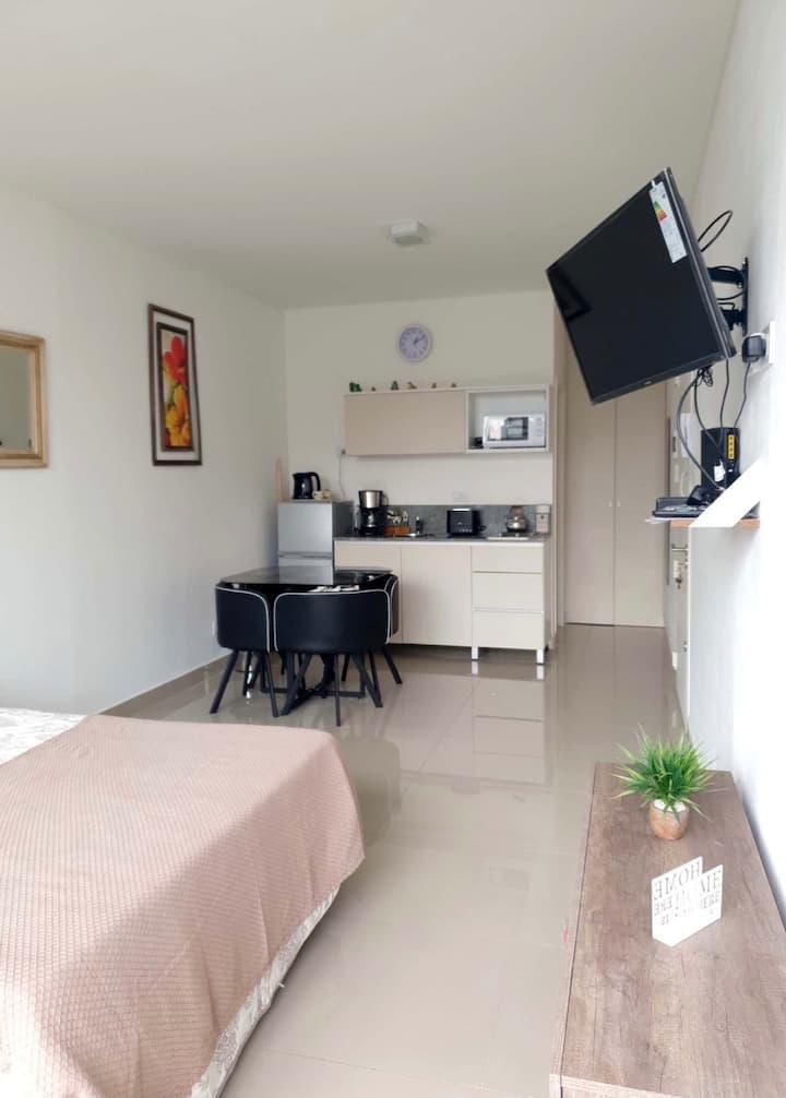 Moderno departamento Av Medrano y Corrientes
