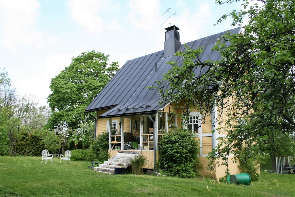 The Forester's villa is built in early twenties