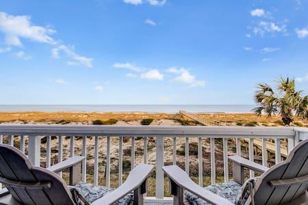 Beachfront Condo- Amazing views from decks - Fernandina Beach - Reihenhaus