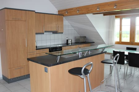 Family-friendly 4-room apartment - Luzern - Apartemen