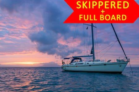 Seyscapes Yacht Charter - Full Board