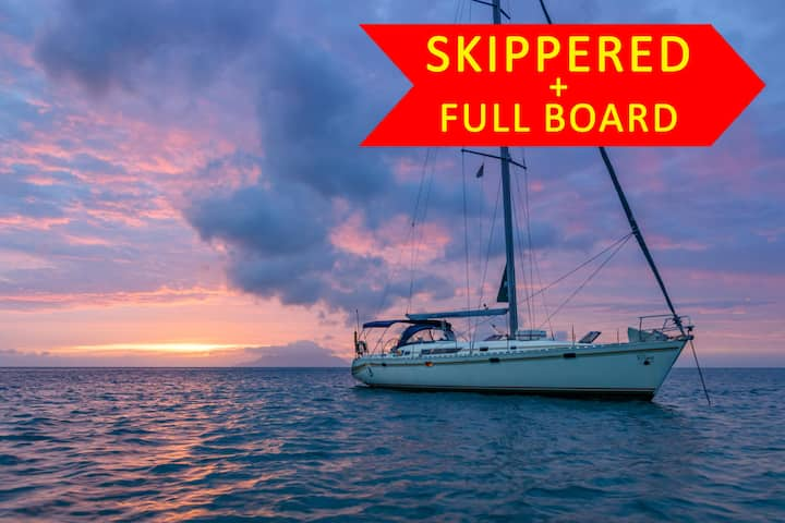 Seyscapes Yacht Charter - Full Board
