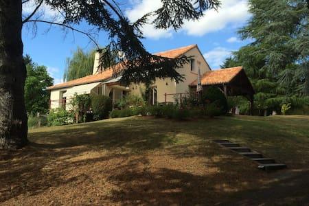 chambre tournesol terrasses du Haut - Vouneuil-sur-Vienne