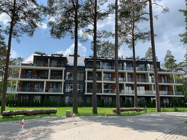 Apartments Augustow on the lake 4 pers.