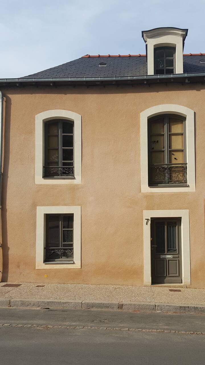 Maison de caractère à Chateau-Gontier