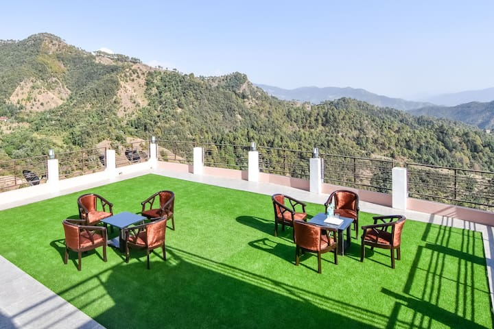 Rooms for 10 Adult near Shimla but close to Nature