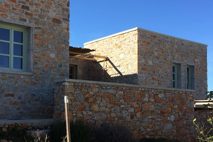 Rodies house 3. Big family house in Chora